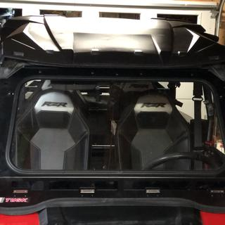 Easy to install tusk glass windshield