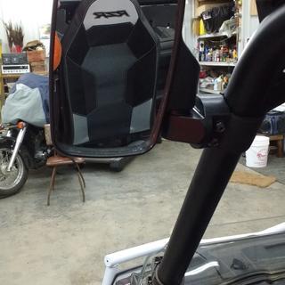 Kolpin UTV Side Mirror on a 2017 Polaris RZR 900 TRAIL