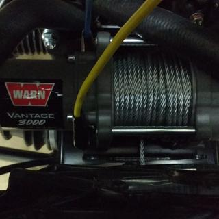 WARN Vantage 3000 Winch with Mount Plates on a 2017 Polaris RZR 900 TRAIL