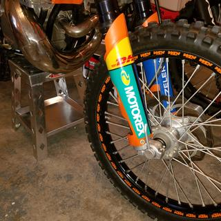 Ktm Front Axle Pull Install