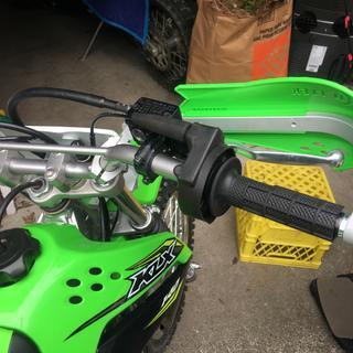 Easy to install on a 2018 Kawasaki KLX140