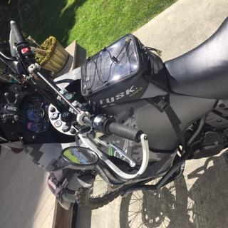 2018 KLR side view