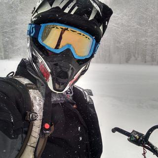 Bronze Chrome Lenses work great in all conditions and dont fog up either!