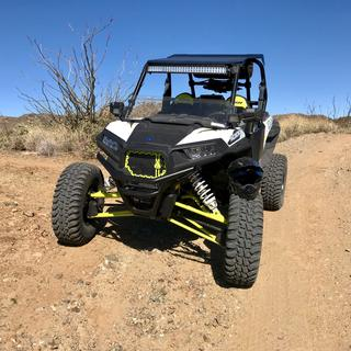 Lime Squeeze on a 2018 RZR XP 1000