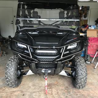 Honda Front Bumper Brush Guard | Parts & Accessories | Rocky