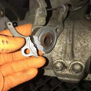 "Customer said ""rear brake issue"""