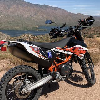 Apache trail Arizona, 2018  ktm 690 enduro r.