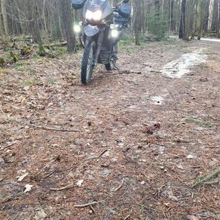 front tire makes you think you are on ice in any terrain close to this