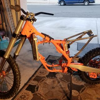 Same with the slide it is so nice and looks cool . Had to get them for this 2016 KTM SX125 build .