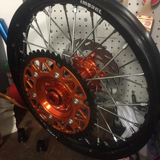 Great looking rim and hub from tusk