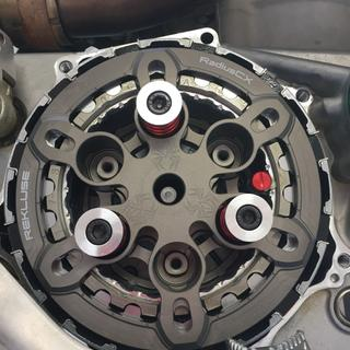 Internal shot of the RadiusCX during installation.