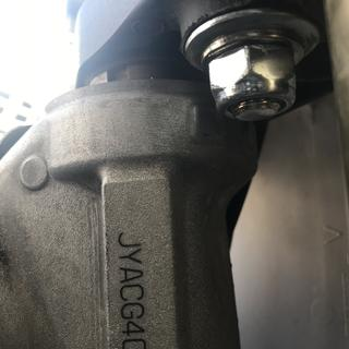 Bolt grab as much as the OEM , if it worries you , can pick up a thinner washer