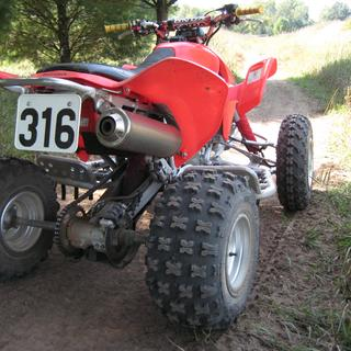 Great tires!...very smooth ride with good control and predictable jumping.