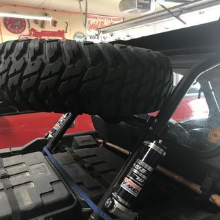 Tusk spare tire rack