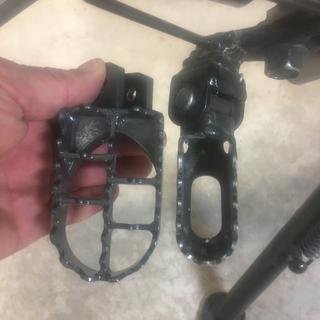 Next to existing TW200 pedals