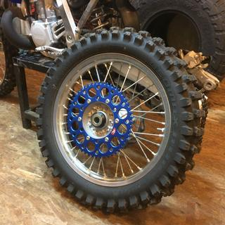 Renthal rear sprocket blue