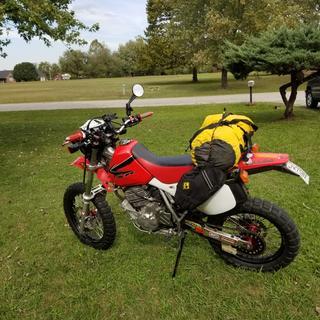Moto camp trip.