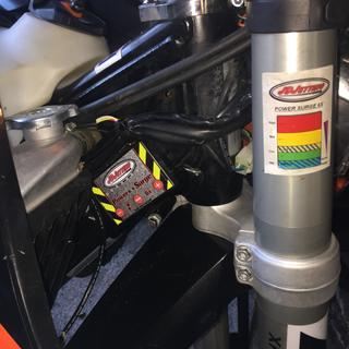 This is a perfect spot for the jetting tuner to go on the KTM 500exc-f
