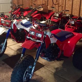 350X MSR ATV Bend