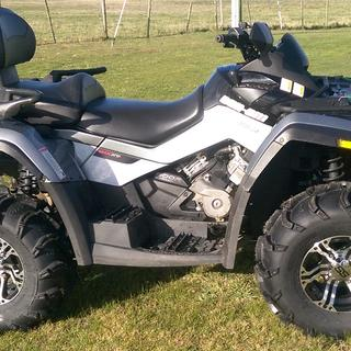 ITP Alloys on my CanAm 800 Outlander
