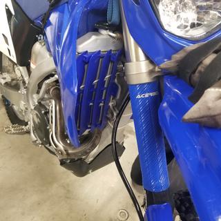 Polisport Radiator Louvers YZ Blue for Yamaha YZ450F 2006