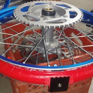 "Installed on 19"" wheel"