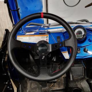 Great steering wheel