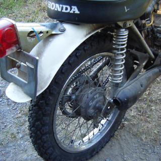 mounted up to my original owner 1971 SL 125  been looking for a match for the front tire .very close