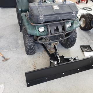 Tusk SubZero Snow Plow Kit, Winch Equipped ATV, 50