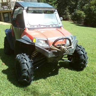 2009 RZR with all new Mud Lite XL,