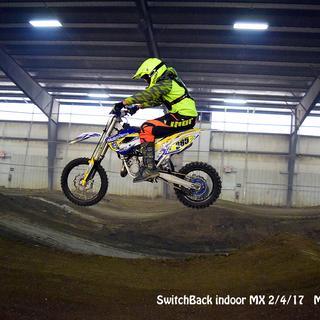 Brett Lancaster Switchback Indoor Track.