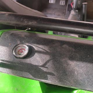 Drilled cover for fitment and visible