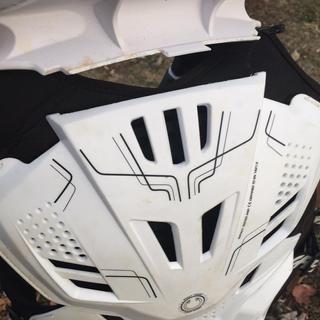 Broken back plate