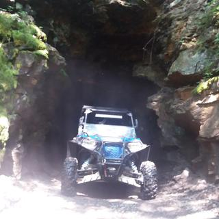 The tunnel in lost trails in demore pa.