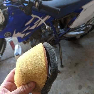 TTR230 filter after 2 washes