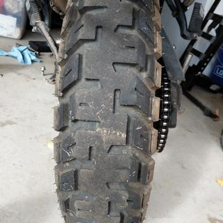 Motoz Tractionator GPS Rear Motorcycle Tire | Tires and
