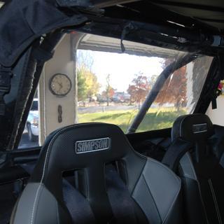 Tusk UTV Rear Window 2018 Polaris RZR Turbo Dynamix Fits nice and tight, easily adjustable