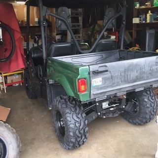 Rhino 25x10x12 rear tires