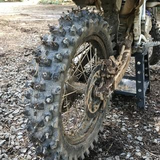 It's the best traction you will ever get in the mud. Thank you tubliss and slime!!