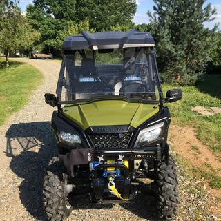 Look and fit great on my 2017 Honda Pioneer 500!