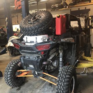 Polaris Spare Tire Mount   Parts & Accessories   Rocky