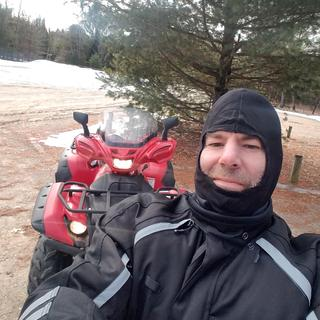 Purchased full set for quad riding on trails.