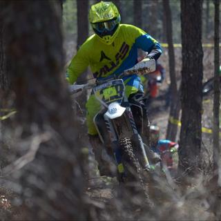 Racing this past weekend in the new helmet, kept my head cool all race