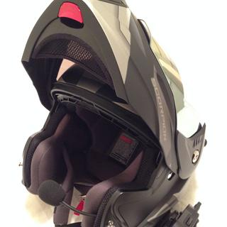 Very functional and comfortable modular helmet. Addition of comm suite was straight forward.
