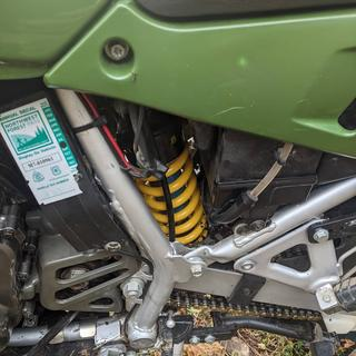 ADV Top Gun Rear Spring Kawasaki KLR650 1987-2018 8.0 kg,Yellow,Dual Sport