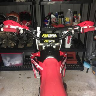 2018 CRF150rb with Pastrana FMX bend