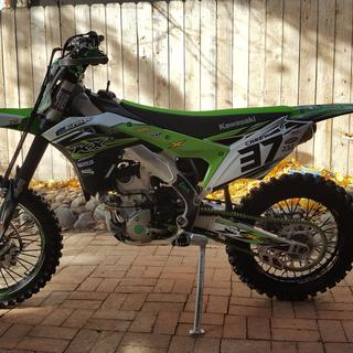 2017 KX250F with Geomax AT81 110 100 18 rear tire