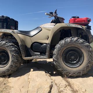 "Kodiak 450 with 26"" setup"