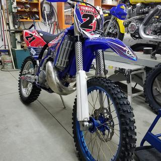 Yz 250 03 with 2015 plastic kit.