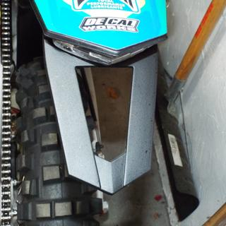 matches shape of Husaberg, KTM rear fenders perfectly